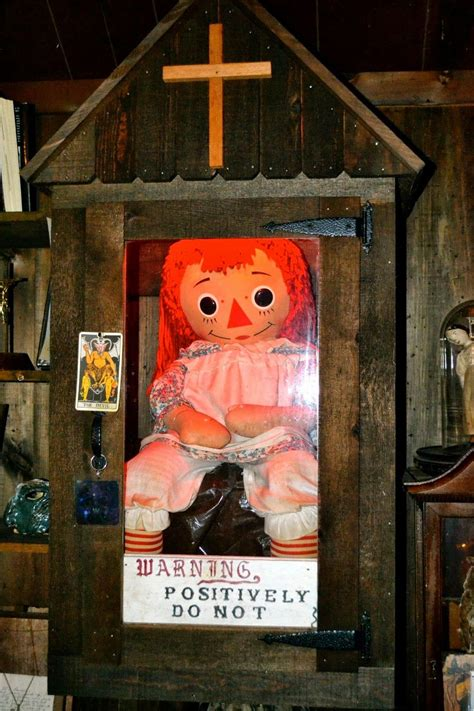 haunted doll in museum the real annabelle doll connecticut in 1970 a