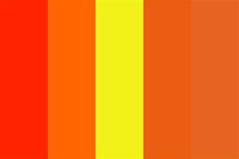 lava color palette