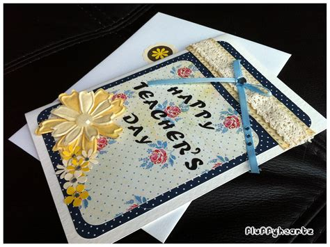 Teachers Day Card Handmade - fluffyheartz s day cards
