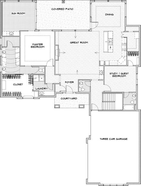 villas of sedona floor plan sedona custom home floor plan in wichita craig sharp homes