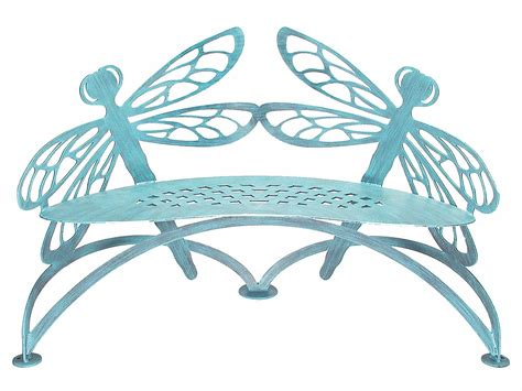 dragonfly bench dragonfly bench verdi cricket forge outdoor metal