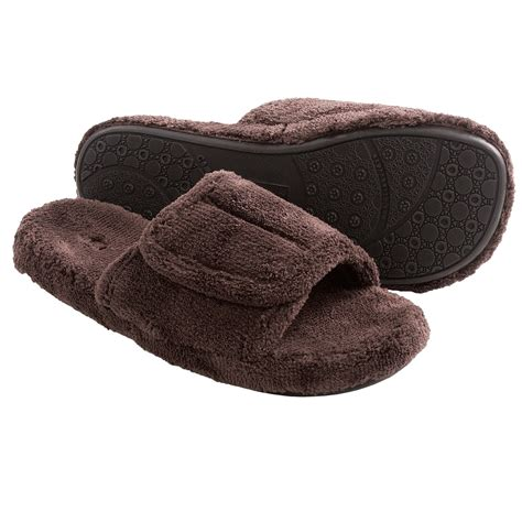 spa slippers acorn spa slide slippers for save 25
