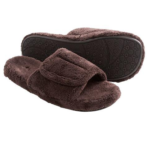 slide in slippers acorn spa slide slippers for save 25