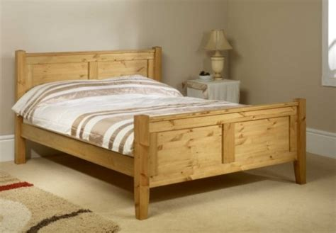 pine bed frame friendship mill coniston high foot end 6ft super kingsize pine wooden bed frame by