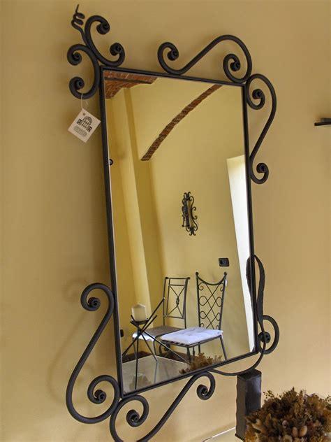cornici in ferro battuto specchio ferrara la casa ferro battuto