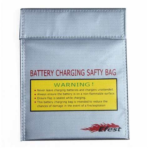 Efest Lipo Safety Charging Bag Big Size Diskon 1 efest lipo safety charging bag big size silver
