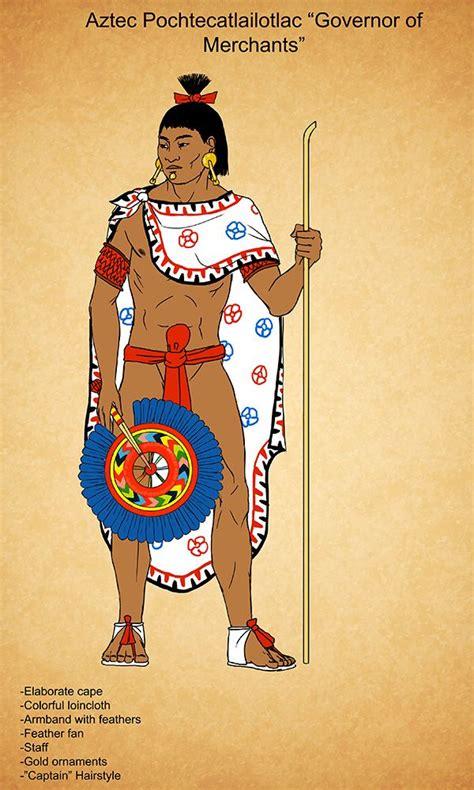 aztec men nobles hairstyles aztec pochtecatlailotlac by kamazotz on deviantart aztec
