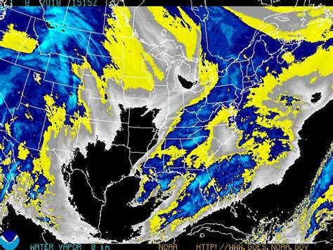 satellite weather map eastern us satellite