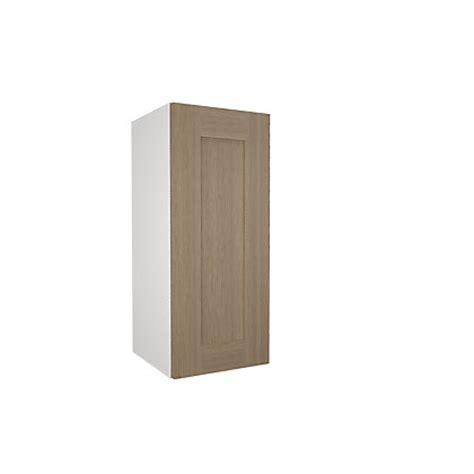 Homebase Essentials Kitchen by Simply Hygena Amersham Oak Shaker 300mm Wall Cabinet