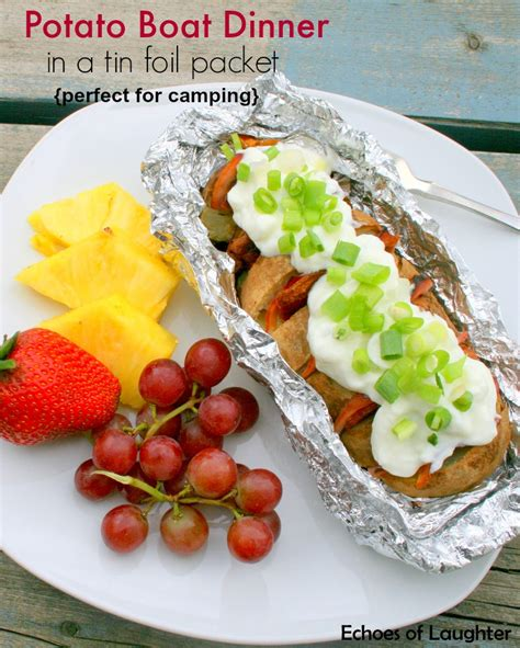 dinner on the boat recipes lumberjack breakfast in foil packet echoes of laughter