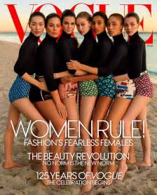 vogue model cover march 2017 popsugar fashion