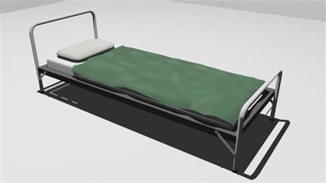 military bed 3d army bed by mangroves on deviantart