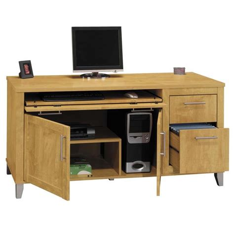 Computer Credenza Desk Object Moved