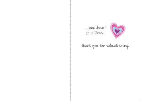 Thank You Note From To Volunteer give thank you notes to volunteers it takes two inc