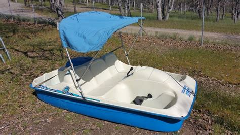 five person boat lot detail nice five person peddle boat