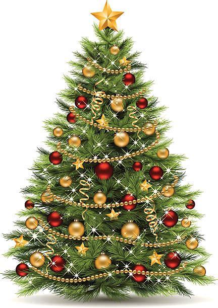 christmas tree illustrations royalty  vector graphics