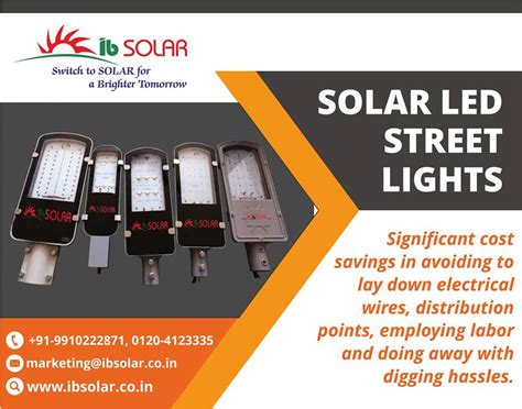 solar led lights in india