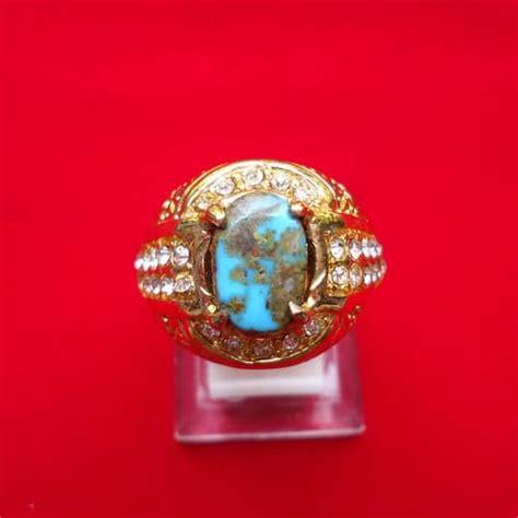 Asli Parfum Brasov cincin batu mustika pirus emas pusaka dunia