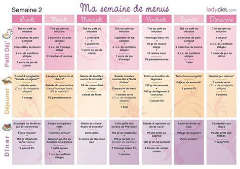 Semaine Detox Perte De Poids by 2 4 Aper 231 U Des Menus Minceur De La Deuxi 232 Me Semaine