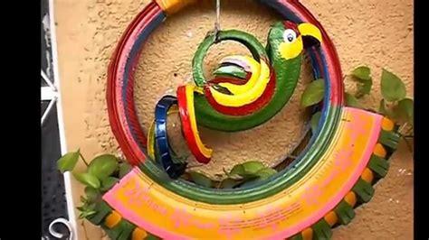 manualidades con llantas como reciclar llantas usadas en macetas youtube