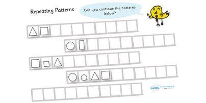 2d shape pattern ks1 pinterest the world s catalog of ideas