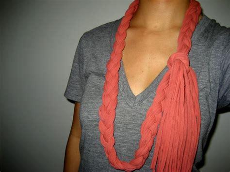 tutorial shawl xl this old dress diy recycled t shirt braided scarf tutorial
