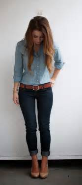 Jean Outfits On Pinterest | the canadian tuxedo denim on denim women fashion outfit