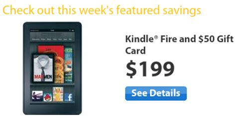 Can You Buy Kindle Gift Cards - walmart kindle fire deal 199 50 walmart gift card just 149