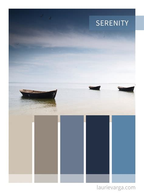 serenity color color palette for web and business serenity