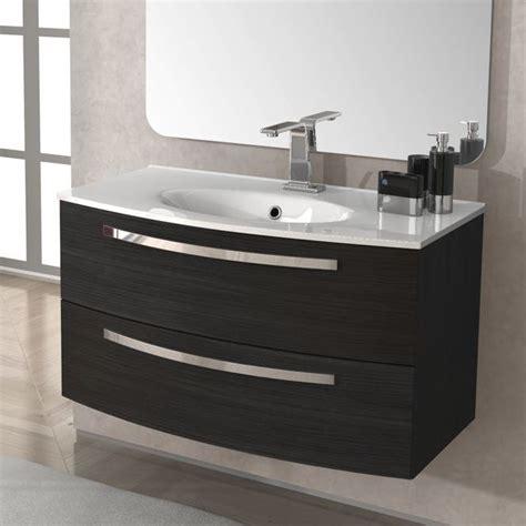 arredo bagno grigio arredo mobile da bagno 100 cm lavabo ceramica grigio scuro