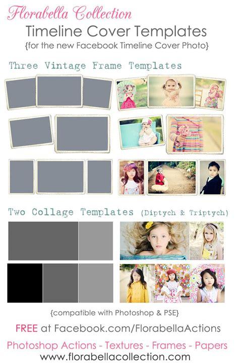 timeline collage template free timeline cover templates vintage frames