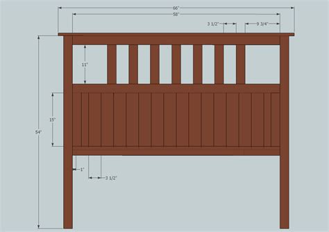 Width Of Size Headboard by Wood Work Plans For Size Headboard Pdf Plans