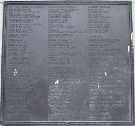 Hartlepool Records Information On Soldiers In Ww1 Boards Ie