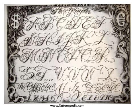 tattoo font generator gangster tony baxter