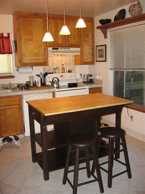 kitchen with small island and small kitchen island with seating design design