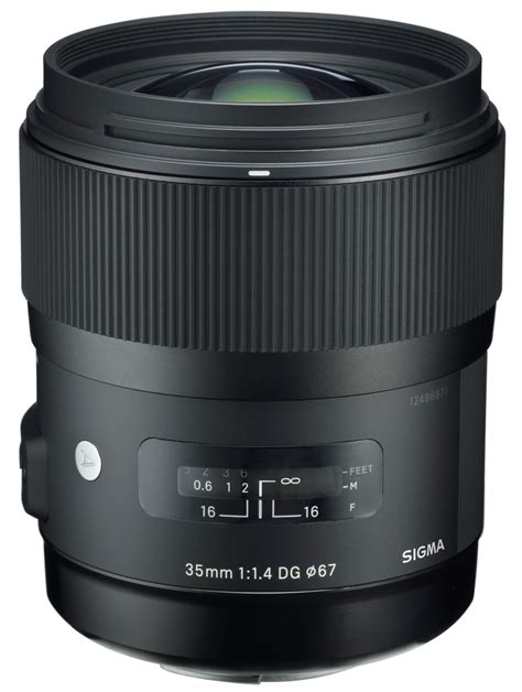 Sigma 35mm F1 4 sigma 35mm f 1 4 dg hsm lens launch
