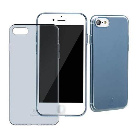 Baseus Simple Shock Proof Tpu For Iphone 7 Plus Transparent baseus simple tpu soft for iphone 7 transparent blue