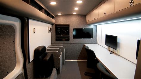 convert to mobile mobile command center conversions vans commercial