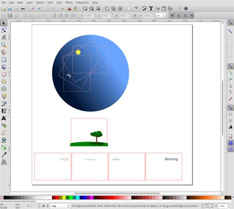 inkscape tutorial intermediate using layers