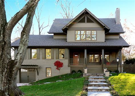 Ranch Rambler Style Home maureen residence craftsman exterior dc metro by