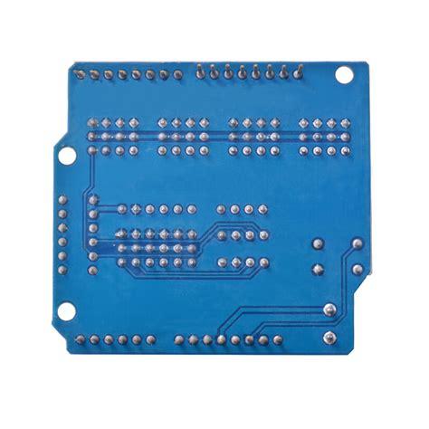 Sensor Shield V5 For Arduino Uno sensor shield v5 0 expansion board module servo motor for arduino uno r3 te606 ebay