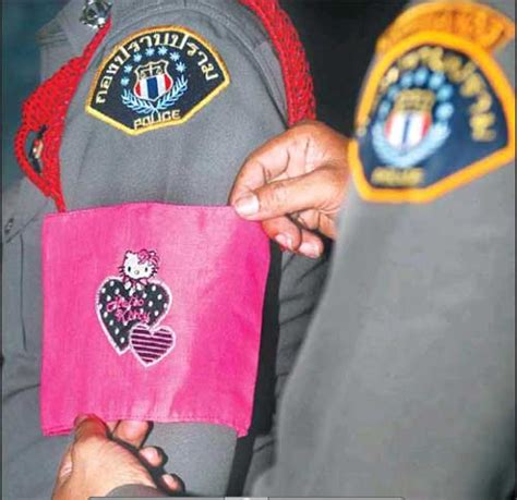 For Bad Cops In Thailand Involves Hello by Lawbreaking Thai To Be Publicly Shamed By Wearing