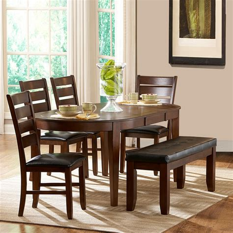 camden 6 oval shape dining set contemporary