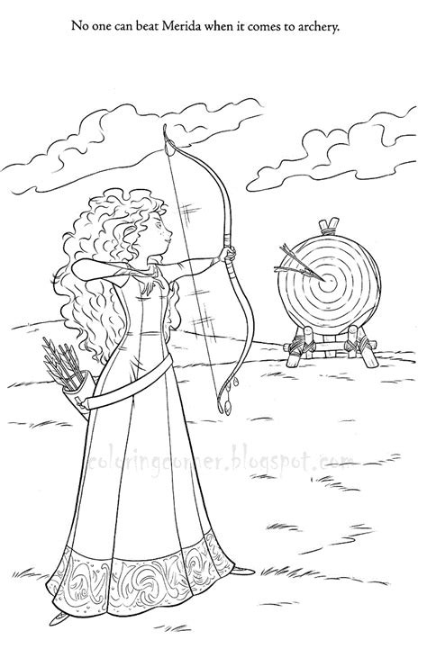 Brave Coloring Pages Brave Coloring Page