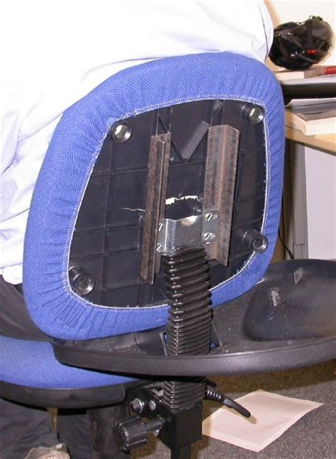 How To Fix A Recliner That Leans To One Side by Repairing Office Chairs In The Computer Laboratory