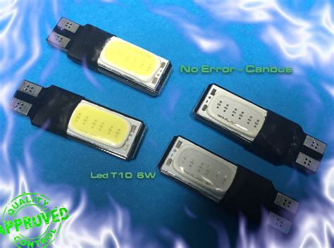 X T10 User led t10 w5w cambus smd cob new tecno user