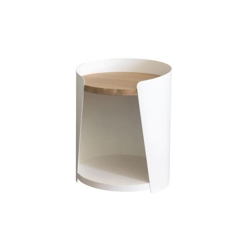 Table De Nuit Metal by Table De Nuit M 233 Tal Bois Design Armand Amobois
