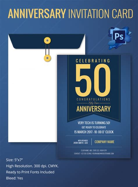 Invitation Letter Psd Sle Invitation Template Premium And Free Documents In Pdf Psd