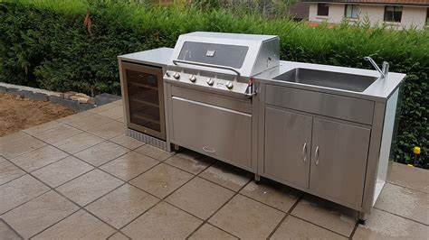 Stainless Steel Cabinets Outdoor Kitchen by Stainless Steel Outdoor Kitchens Sydney Outdoor Kitchens