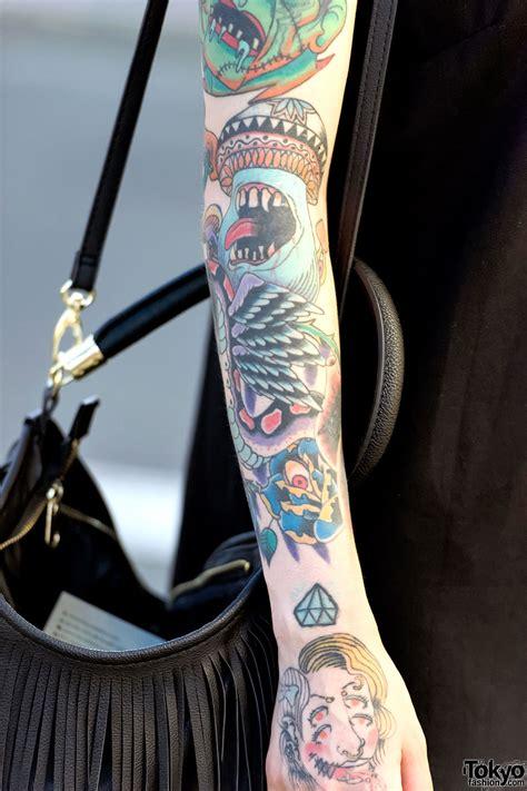 tattoo piercing harajuku w tattoos piercings platform sandals